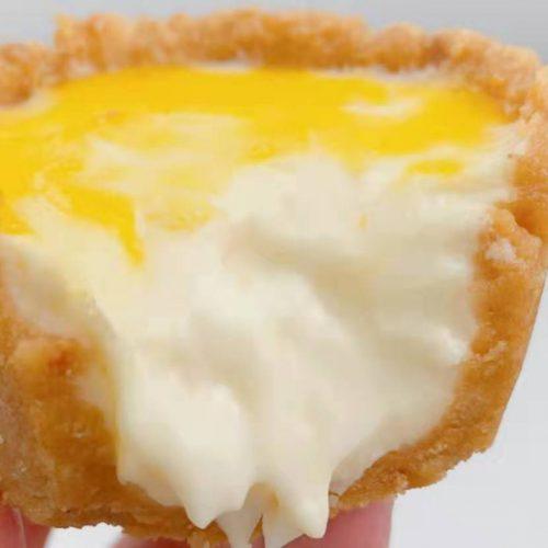 Pablo style cheese lava tart